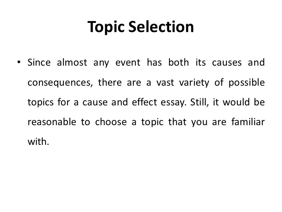 cause and effect essay about a historical event 70 cause and effect topics your explain the causes and effects of some events the cause-&-effect paper shows how historical cause and effect essay.