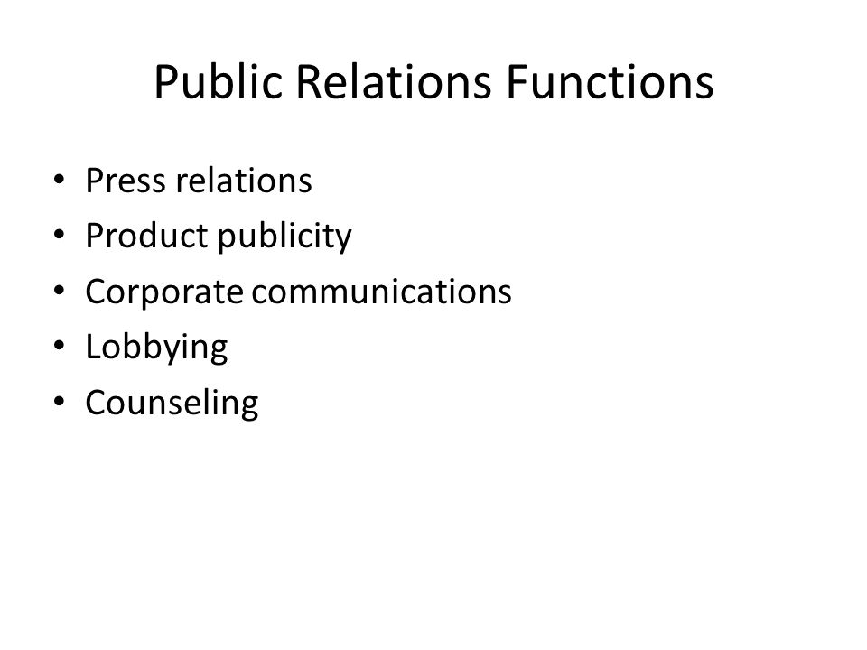 functions public relations 3 Swbat: (1) identify the domain and range of relations and functions (2) match simple graphs with situations pgs #1 - 7 chapter 4–3 – writing functions (day 3.