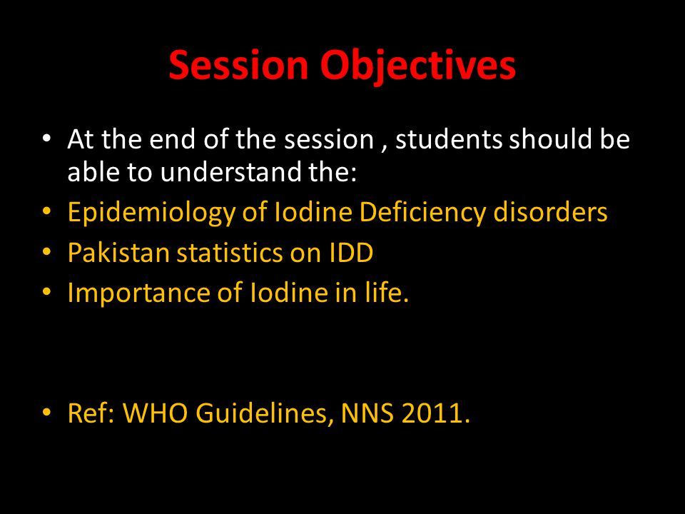 Iodine deficiency disorders - PowerPoint PPT Presentation