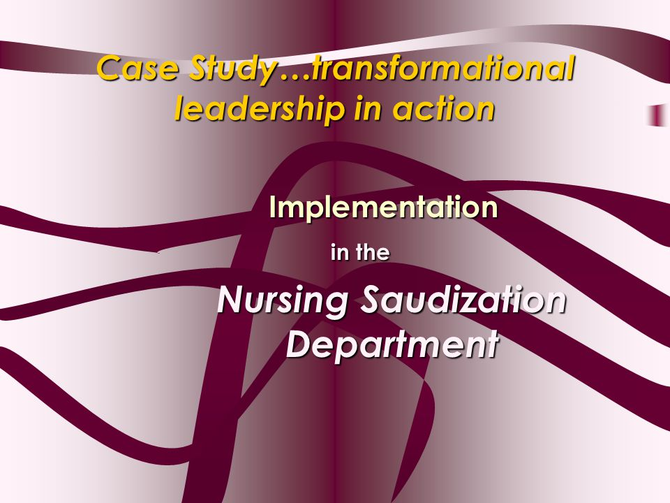 short case study on leadership with solution Learningedge's strategic case studies include the case highlights the inner quest was the leading provider of diagnostic services and solutions in.