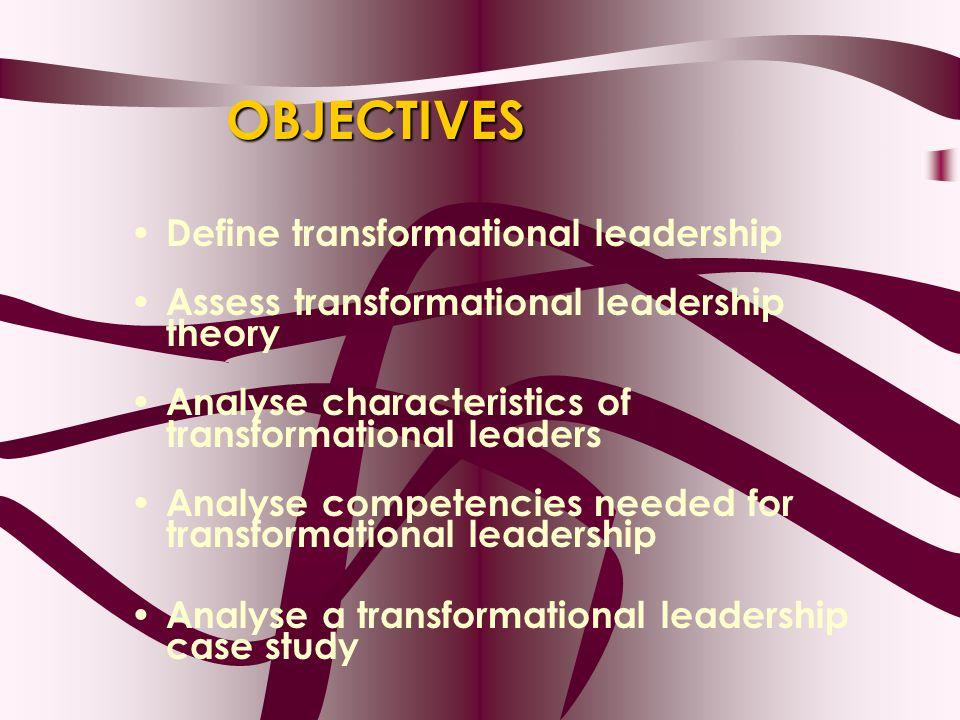 transformational leaders essay