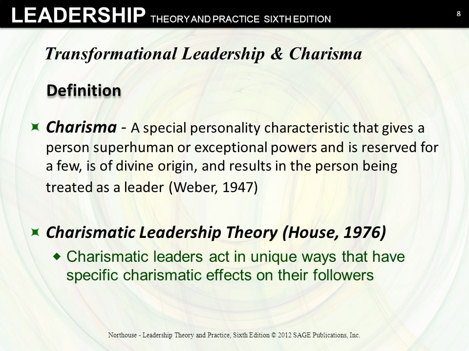 Four Elements of Transformational Leadership