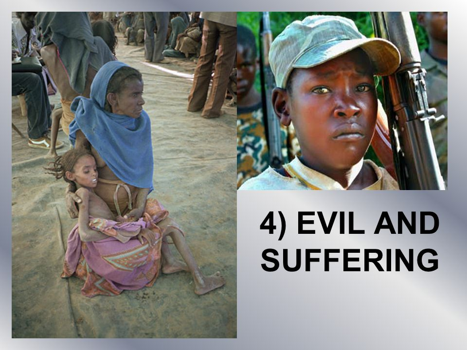 how does the evil and suffering Why do bad things happen human beings seek to reconcile their understanding of an all-powerful, loving god with the seemingly endless suffering around them.
