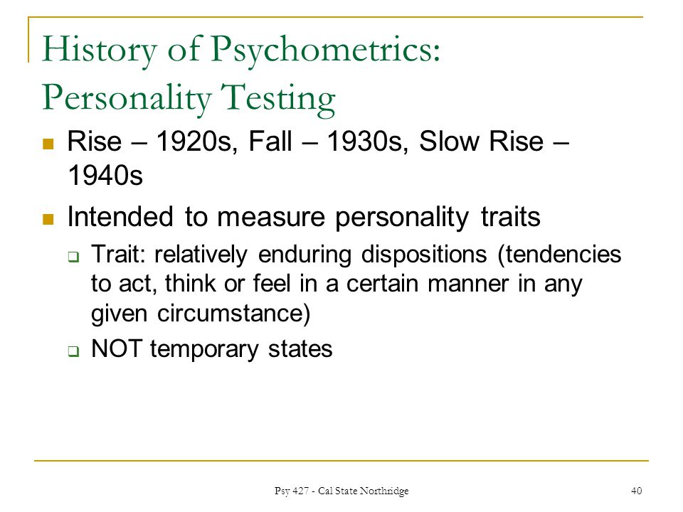 rise & fall of psychological testing essay Rise is an evidence-based mindful leadership program for individuals in high- stress industries.