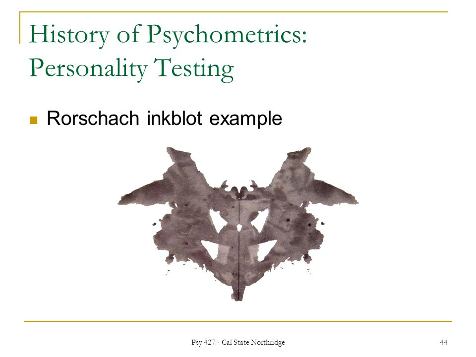 BLOTS AND ALL: A HISTORY OF THE RORSCHACH INK BLOT TEST IN BRITAIN.