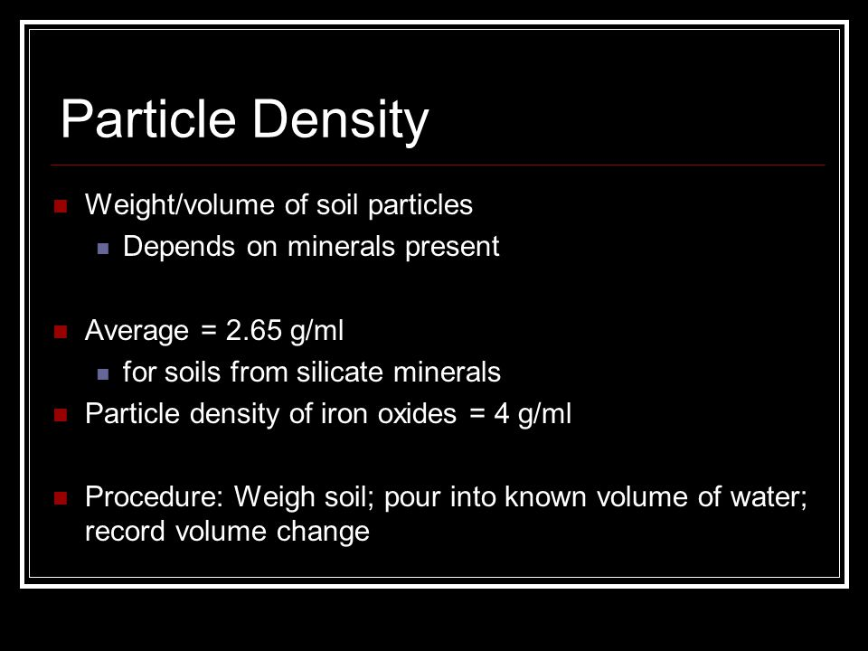 Soil properties a texture ppt video online download for Minerals present in soil