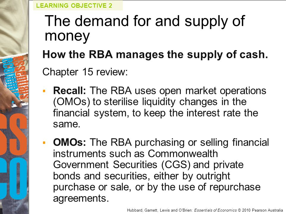 demand and supply for money On the other hand, the money supply curve is a horizontal line if the central bank is targeting a fixed interest rate and ignoring the value of the money supply in this case the money supply curve is perfectly elastic the demand for money intersects with the money supply to determine the interest rate.