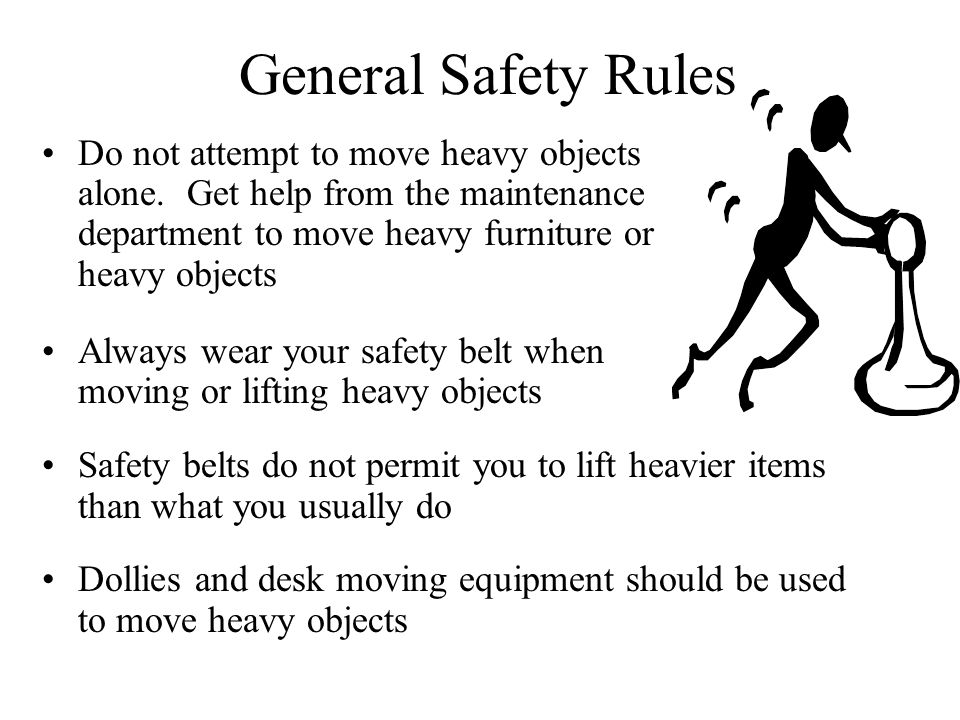 SAFETY RULES, POLICIES AND PROCEDURES - ppt video online download
