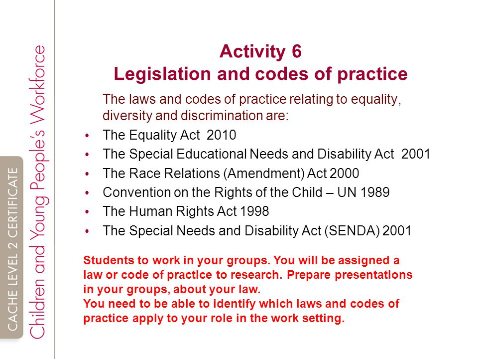 legislative requirements relating to inclusive practice and their implications Removing the attitudinal barriers to inclusive education  to understand the  importance of government structures necessary to support inclusive  for  information on the following related topics, refer to the other modules in this  series: 1.