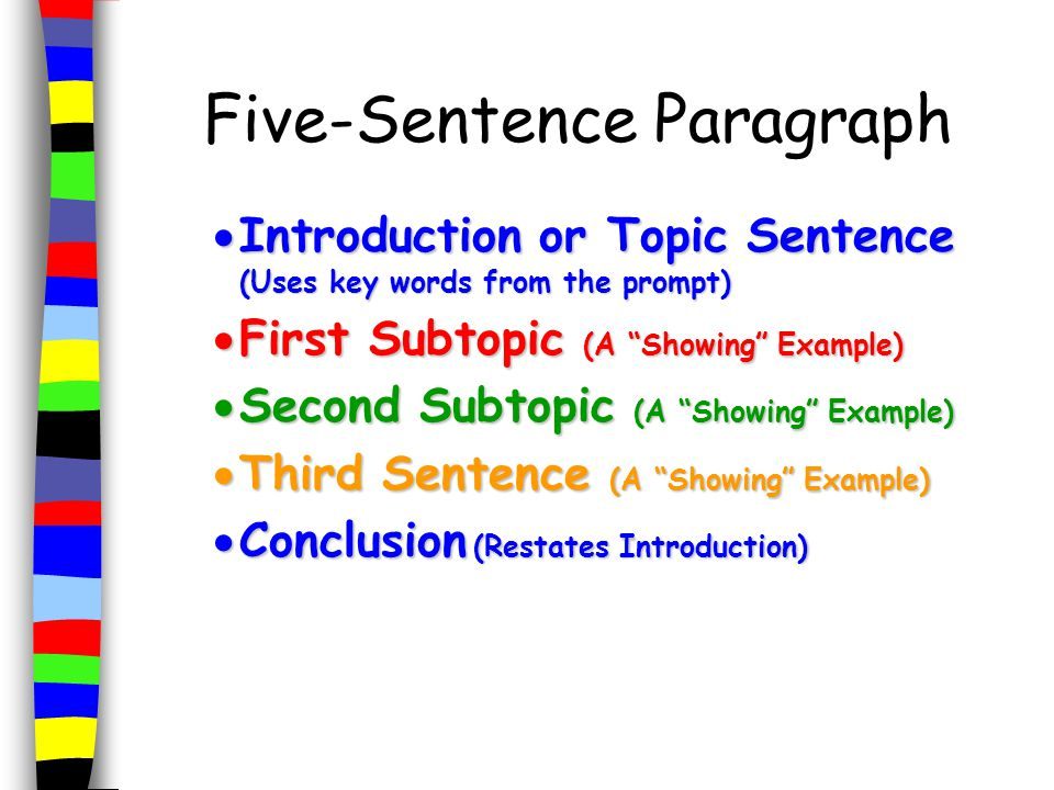 Writing a Five-Paragraph Essay PowerPoint Presentation, PPT - DocSlides