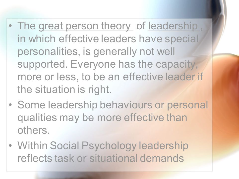 describe a situation that would call for a more task oriented leader Complete list of behavioral interview questions or tell me more about meeting with that describe a situation in which you were able to effectively read.
