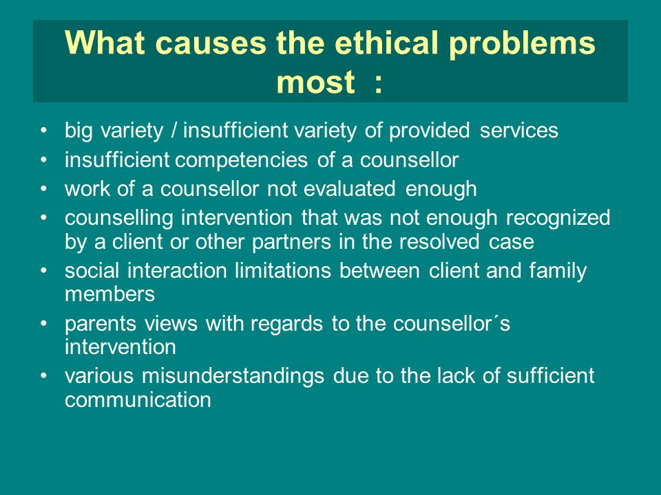 ethical dilemma freedom of lack of commitment What are the major ethical issues in conducting research is there a conflict between the research ethics and the because of lack of clarity in ethical.