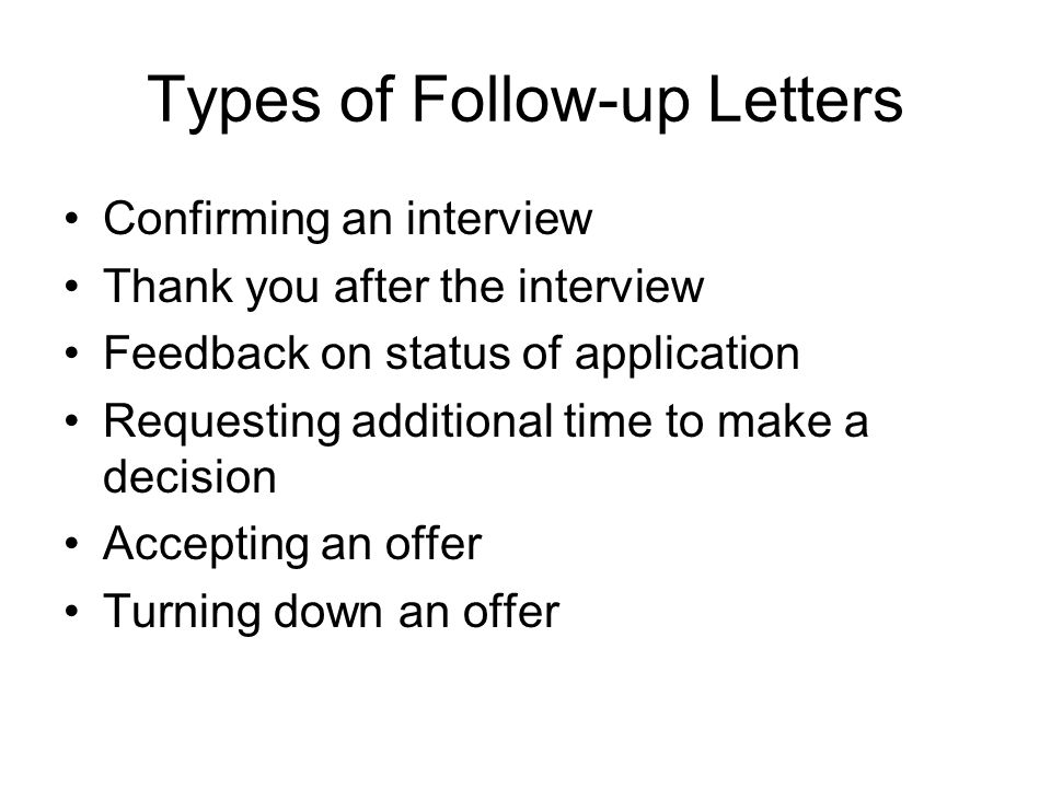 Guidelines for Writing Job Application Letters ppt video online