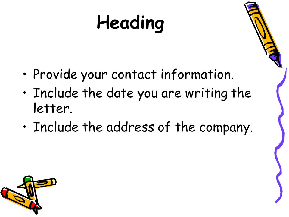 a basic guide to writing great cover letters ppt