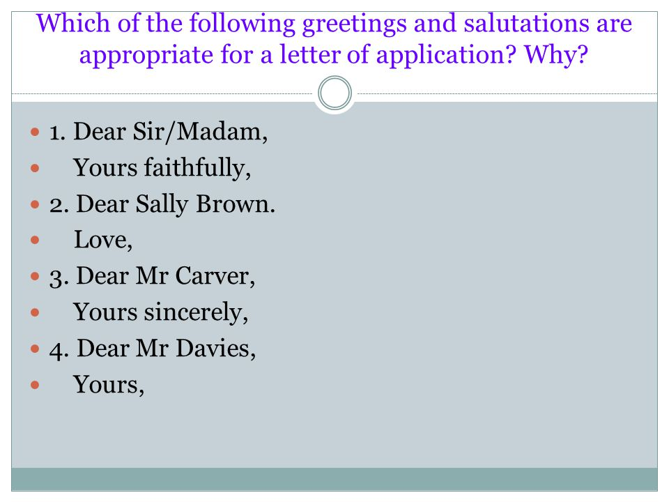 yours faithfully or sincerely in a cover letter - letter dear sir madam yours sincerely 28 images letter