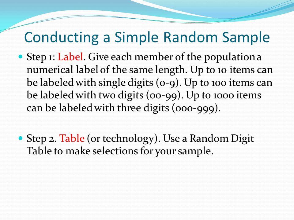 Section 7.3 – Simple Random Samples - ppt download