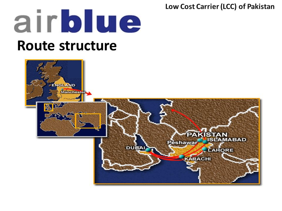 Low Cost Carrier (LCC) of Pakistan