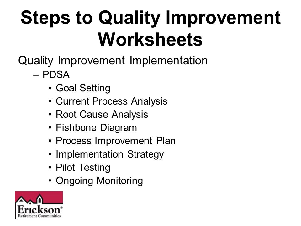 Quality Improvement Tools Pdsa Worksheet - vegaloprojects