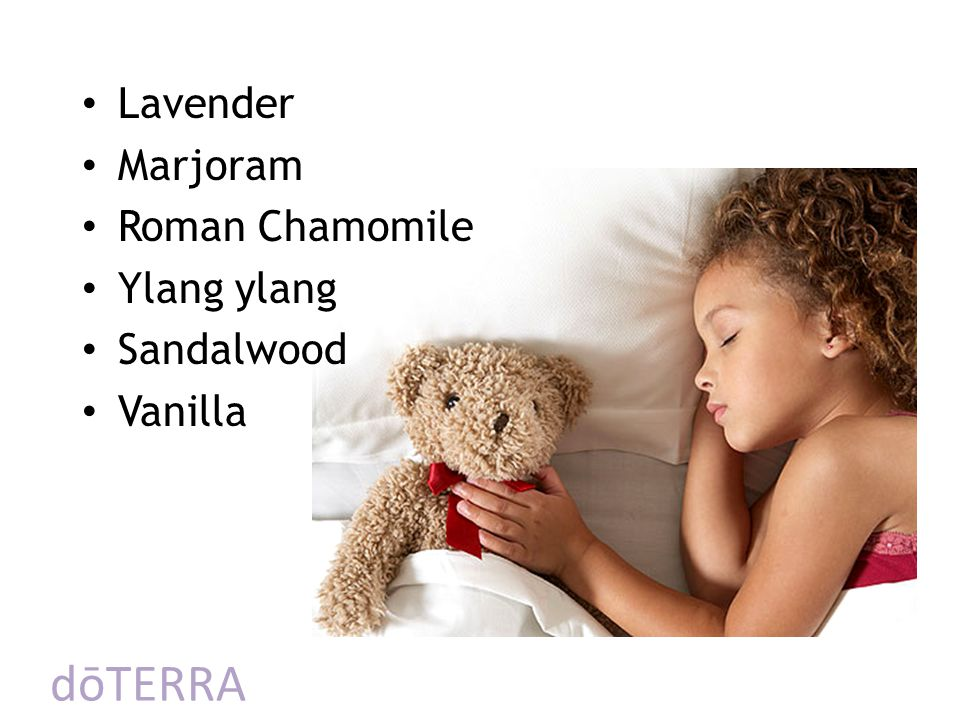 dōTERRA Lavender Marjoram Roman Chamomile Ylang ylang Sandalwood