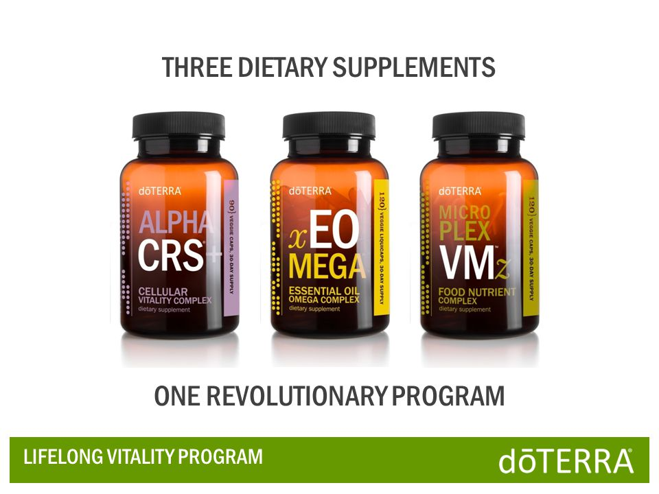 THREE DIETARY SUPPLEMENTS