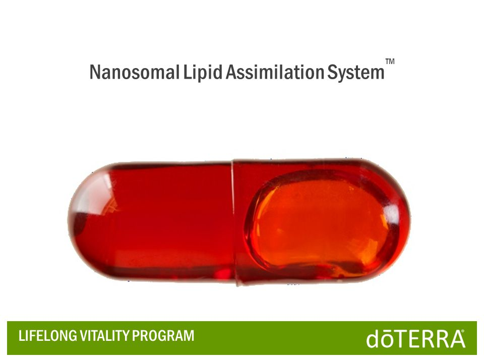 Nanosomal Lipid Assimilation System™