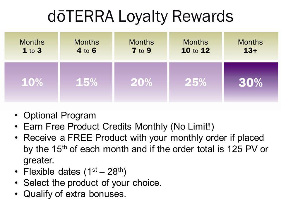 dōTERRA Loyalty Rewards