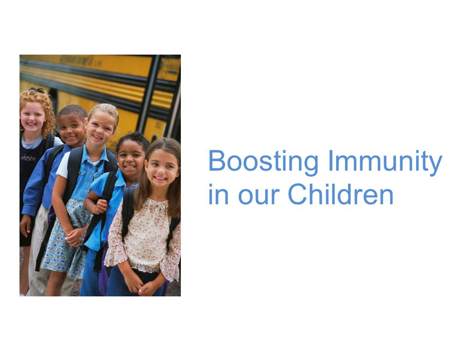 Boosting Immunity in our Children