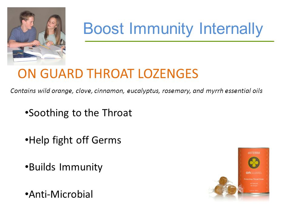 Boost Immunity Internally