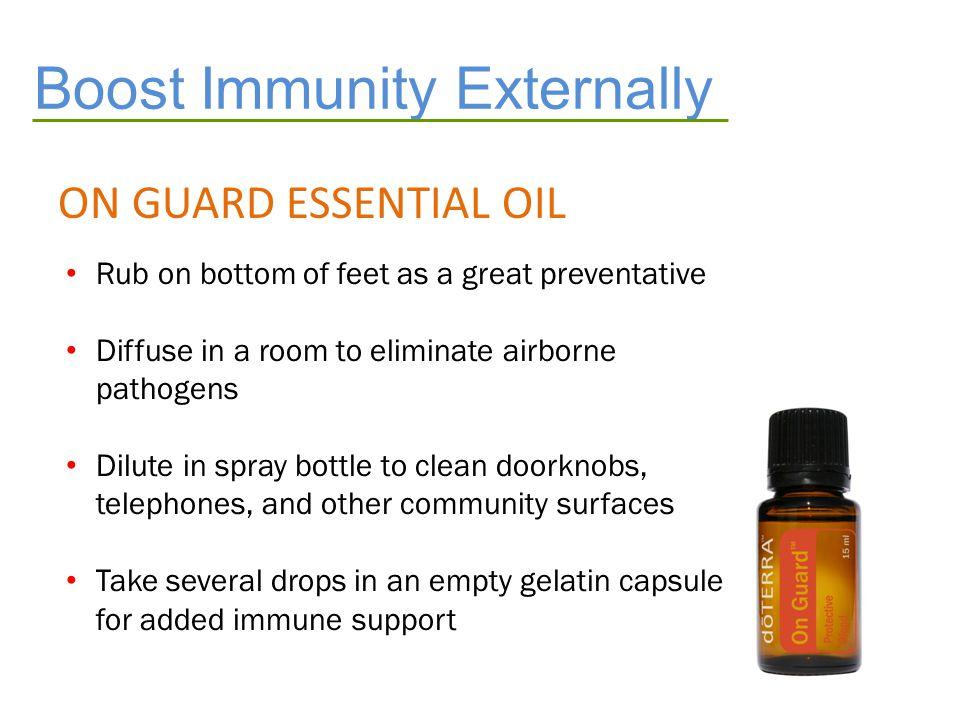 Boost Immunity Externally