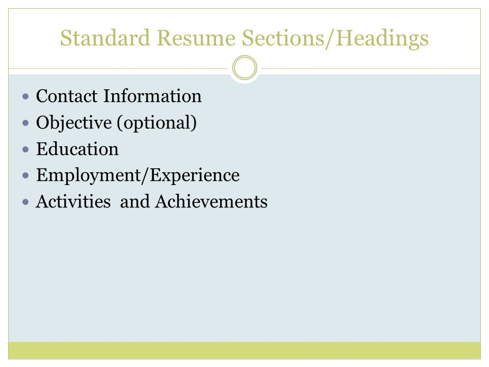 resume writing for graduate students ppt video online download