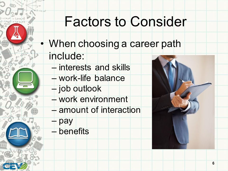 factors to consider when choosing a career path include - How To Decide On A Career How To Choose A Career Path