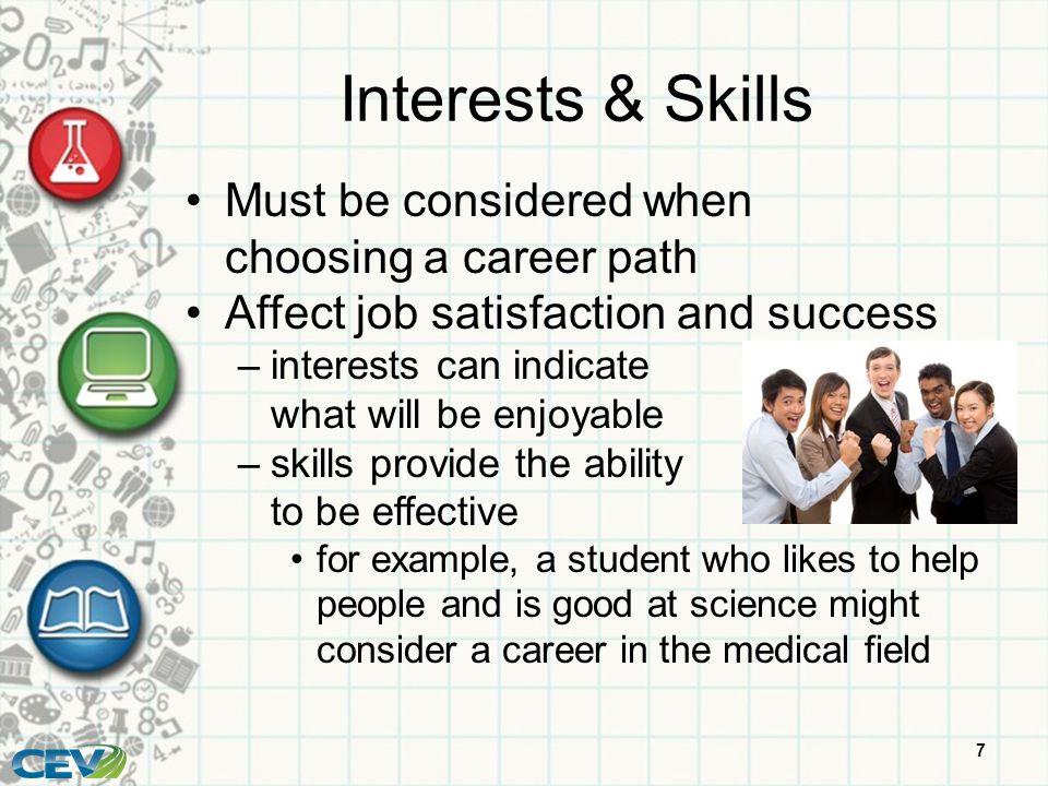 considerations choosing career