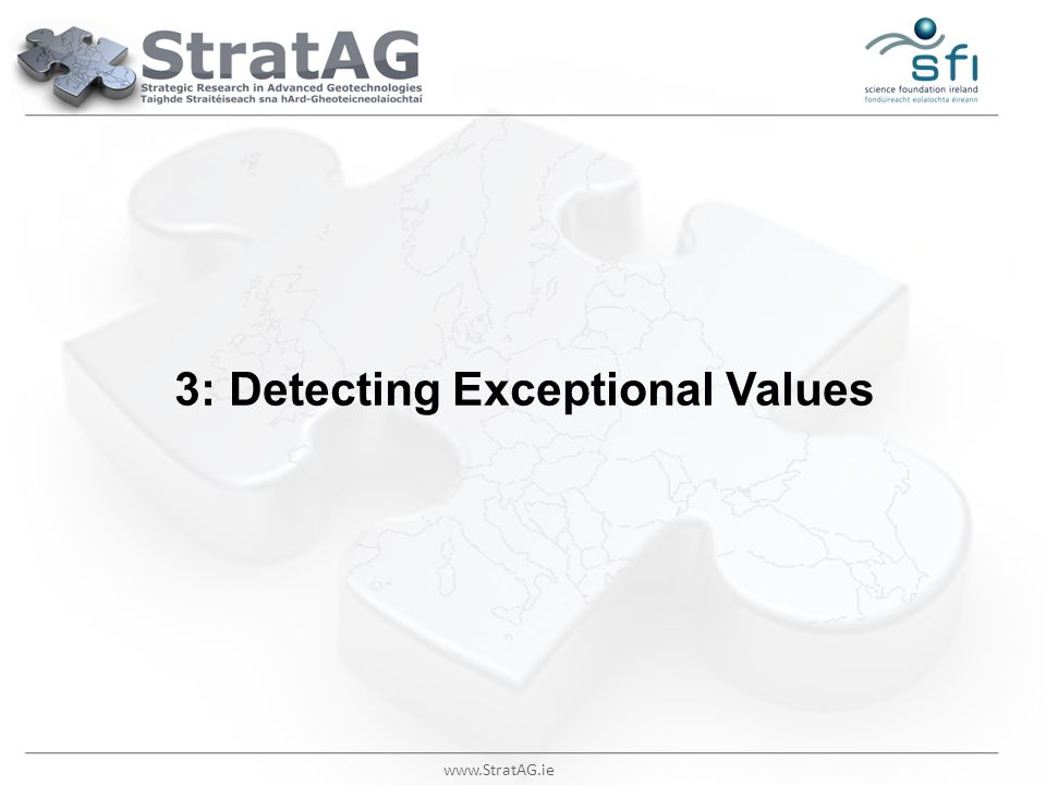 3: Detecting Exceptional Values