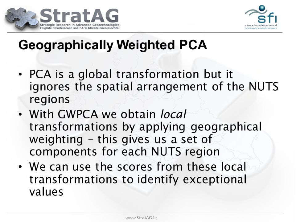 Geographically Weighted PCA