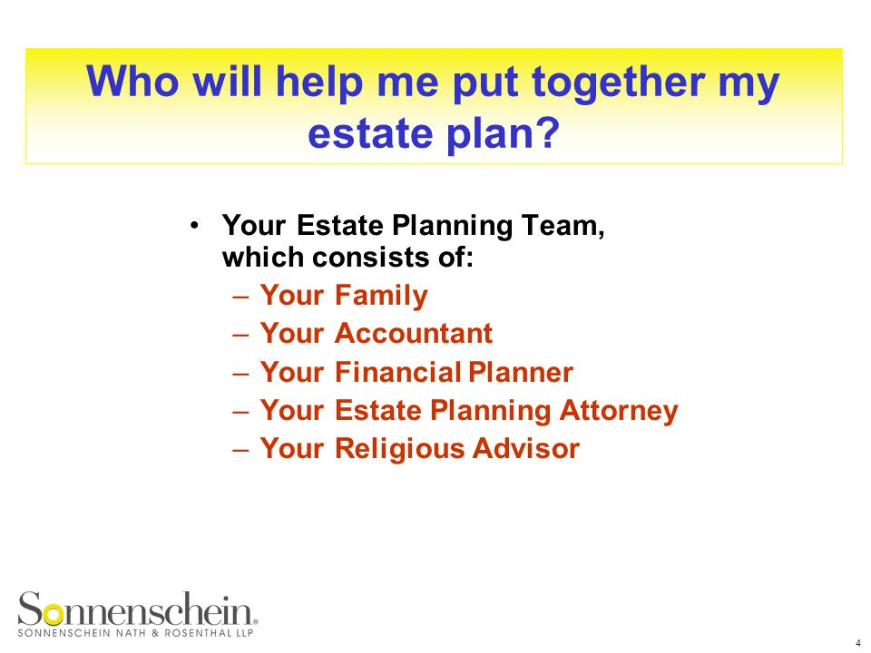 Essentials Of Estate Planning  Ppt Download