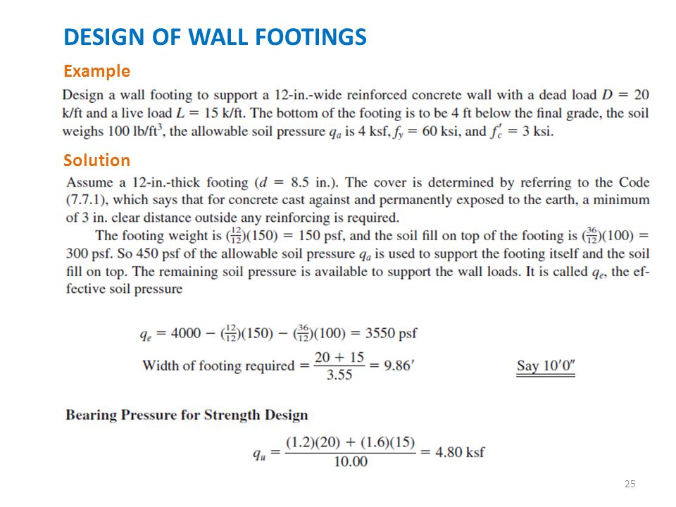 Footings Introduction. - Ppt Download
