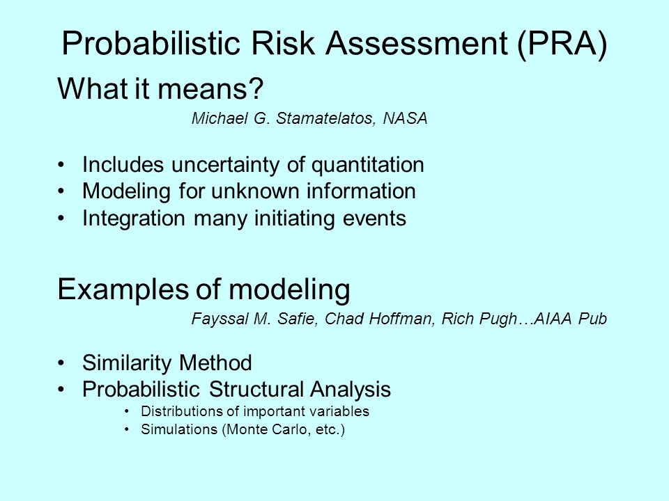 risk management for complex pharmaceuticals