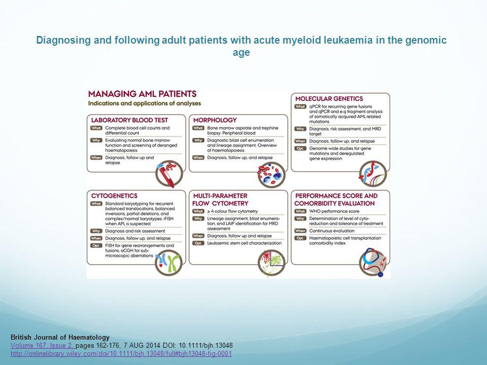 british journal of haematology author guidelines