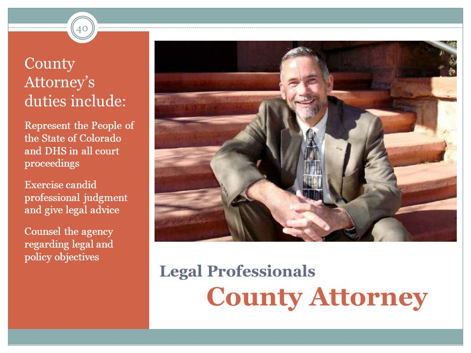 Legal Professionals County Attorney