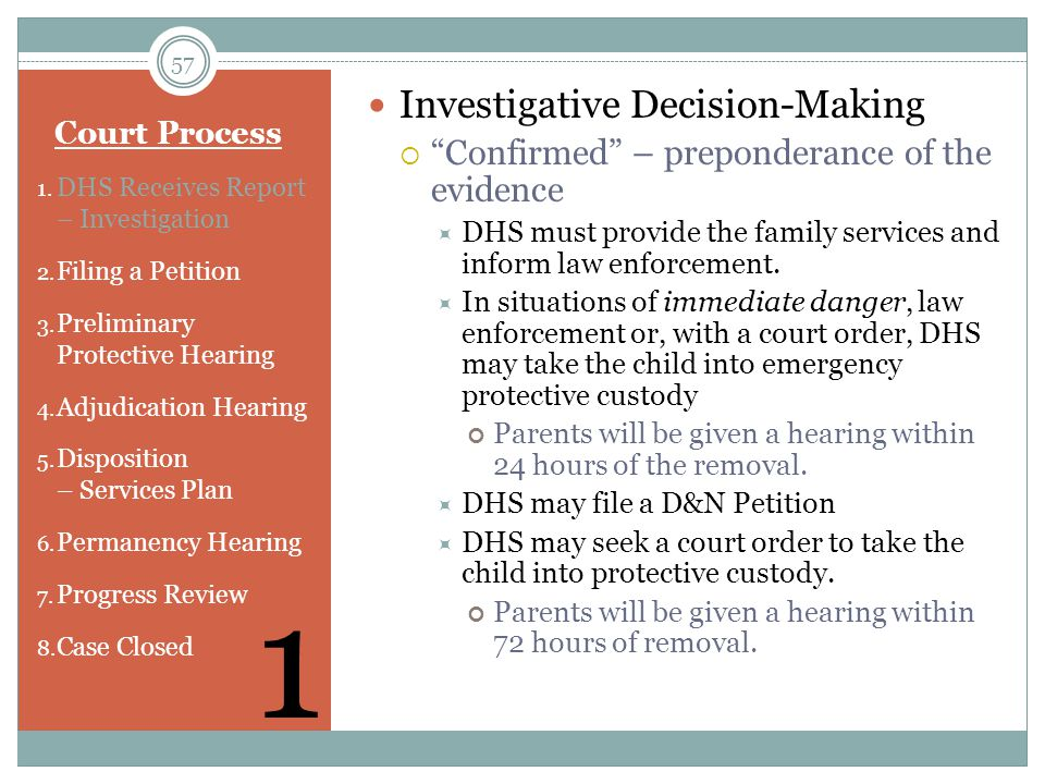1 Investigative Decision-Making