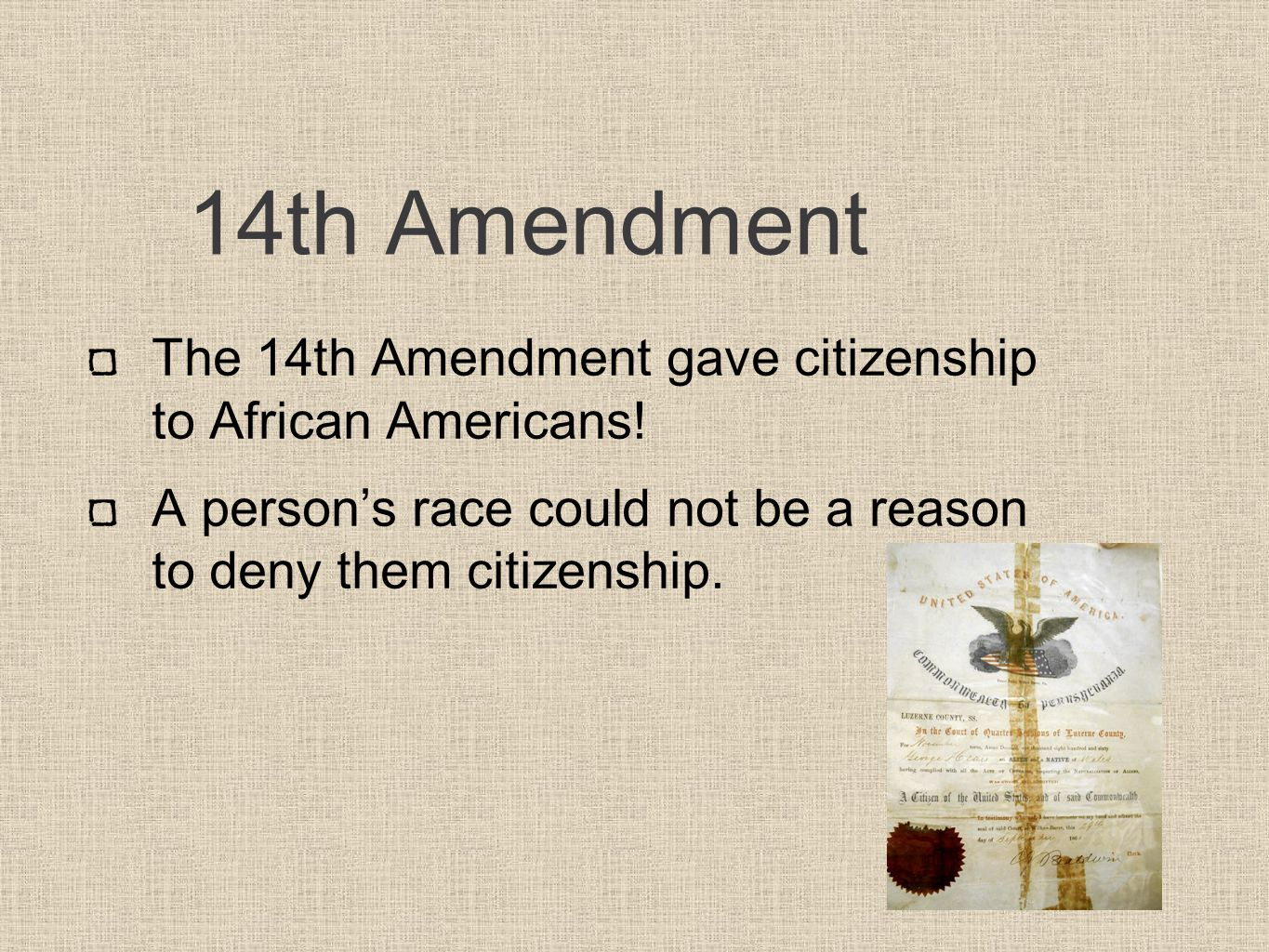 significance of 13th 14th 15th amendments essay Historyplex gives you the summary and significance of the fifteenth amendment through this article follow us: (13th, 14th, and 15th amendments).