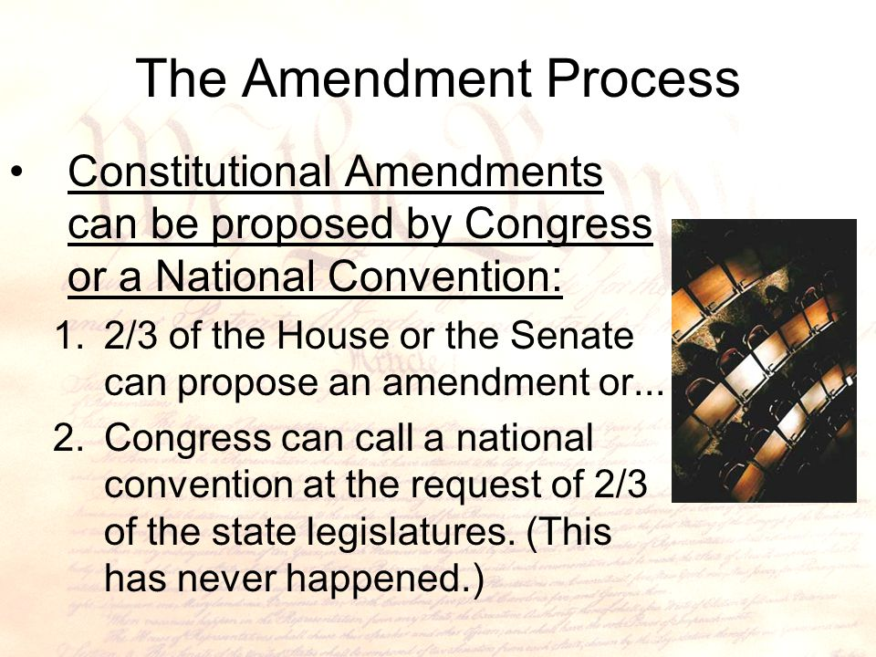 Changing The Constitution Ppt Video Online Download