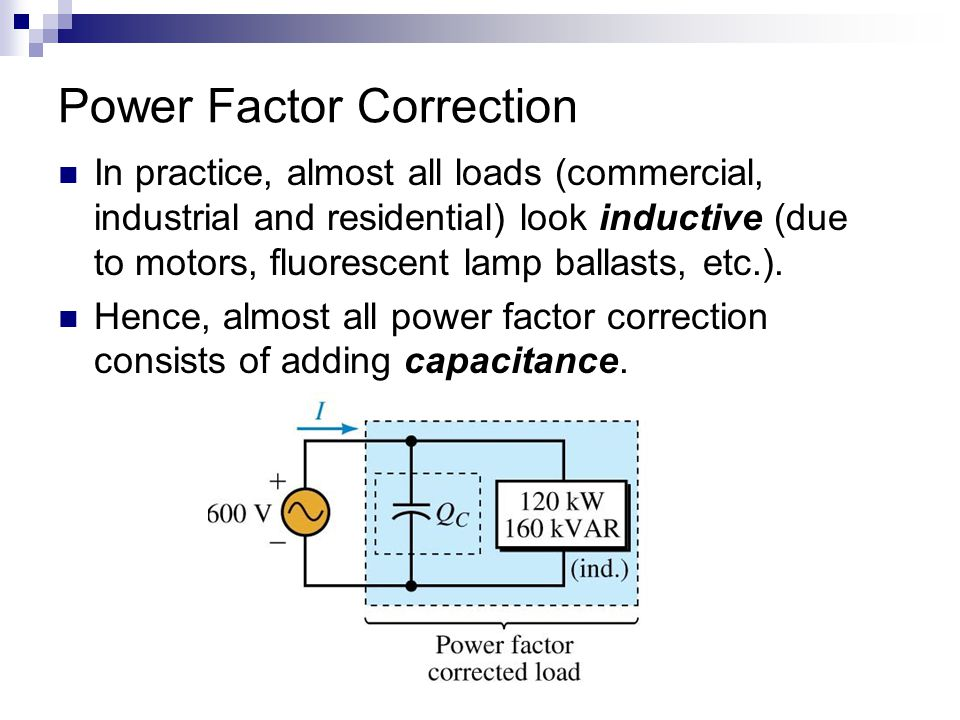 Power Factor And Power Factor Correction Ppt Video