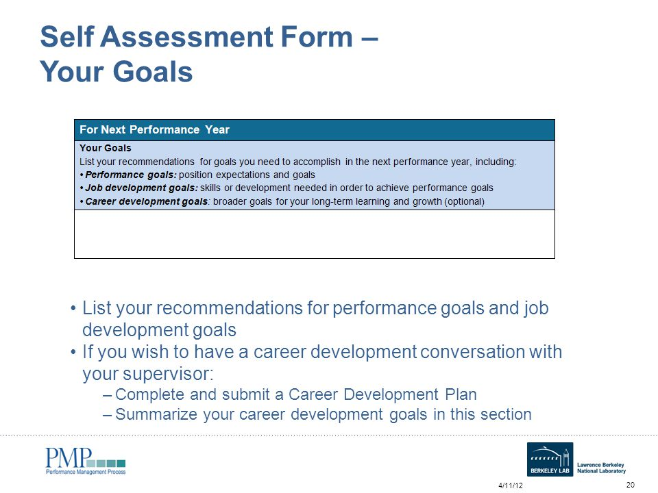 Annual Self Assessment Workshop For Employees  Ppt Video Online