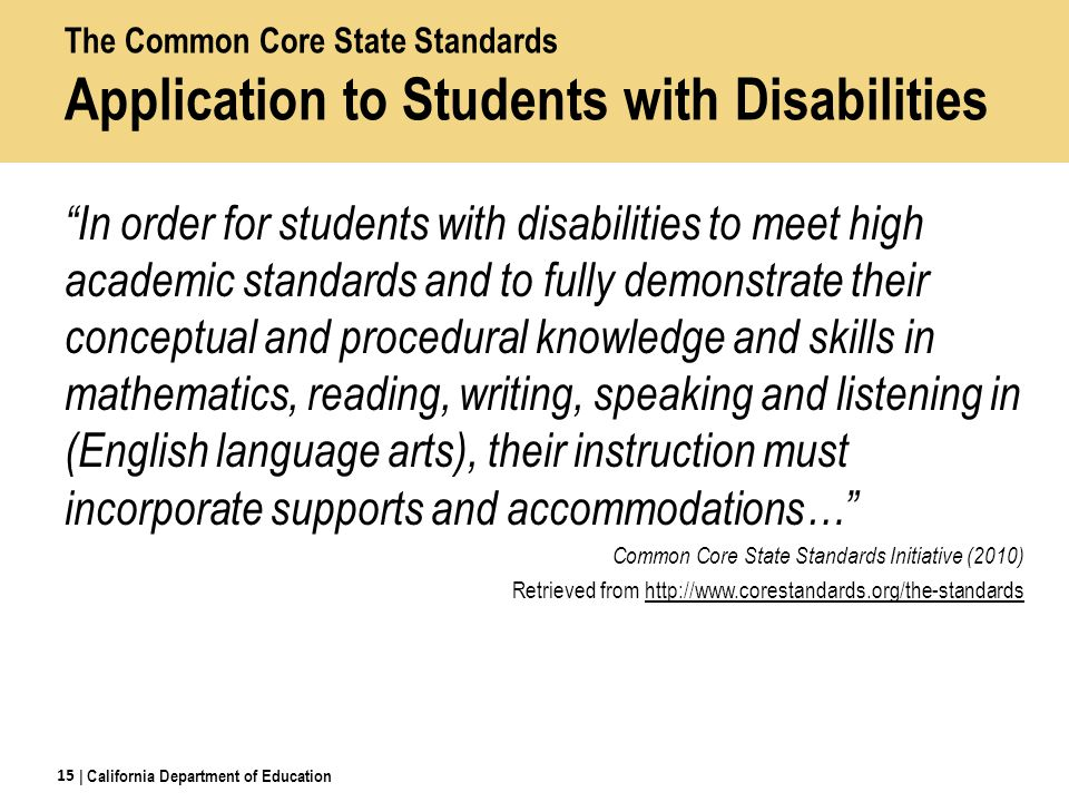 children with disabilities and their shot at education essay Sample essay responses and rater commentary for the issue task  to  expand their thinking and learning, opening up whole new worlds for many  people.
