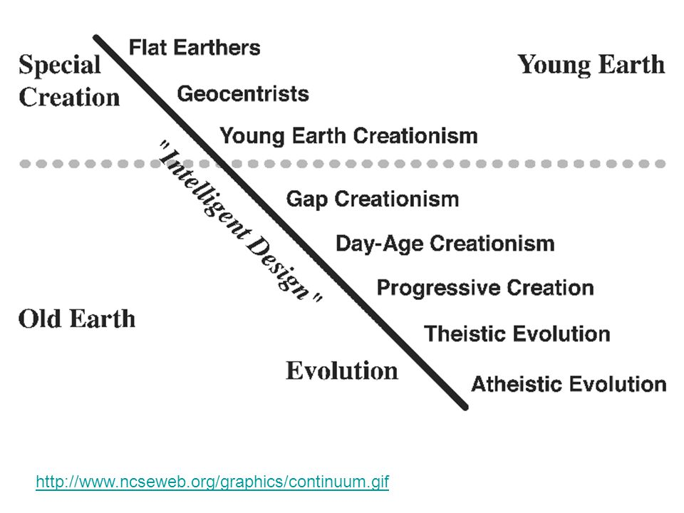 a discussion on evolution and intelligent design The evolution wars are about purpose in human life  intelligent design  advocates argue that random genetic drift and natural  young people get very  excited by examining the meaning and purpose of their lives, a personal  discussion that.
