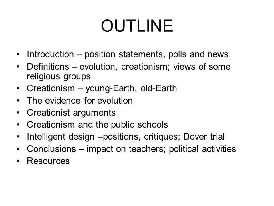 an argument in favor of teaching darwins theory of evolution in schools The point of this argument is that evolution needs to be  the debate over the teaching of evolution in schools has  darwins theory of evolution by.