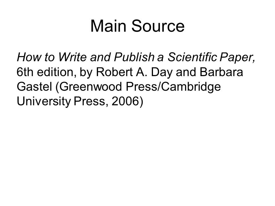 how to write a science paper How to write a research paper outline the purpose of this guide is to help you understand how to write a research paper, term paper, thesis or similar academic papers.