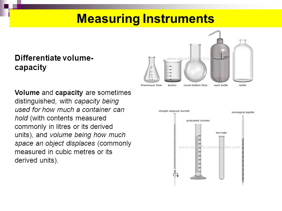 Big Volume Measuring Instruments : Chemistry science rdeso ppt video online download