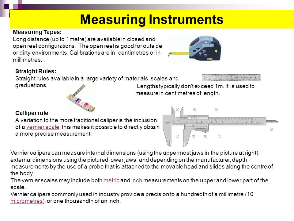 Used Measuring Instruments : Chemistry science rdeso ppt video online download